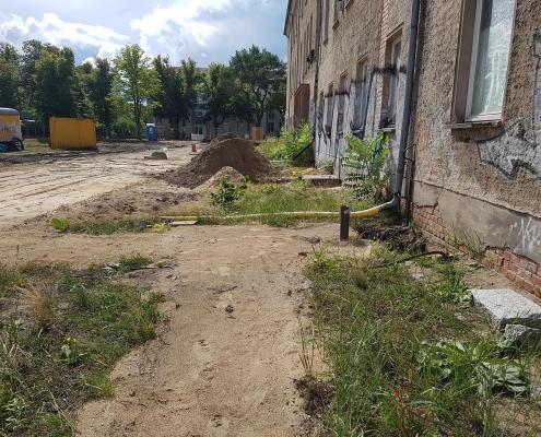 Baustrasse einrichten 1