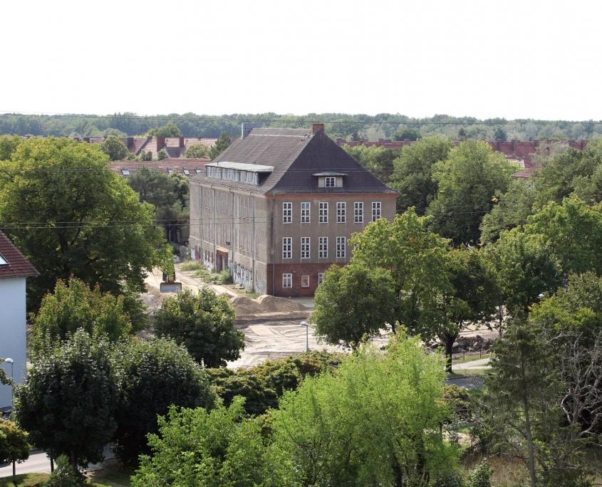 altes Puschkin-Gymnasium von oben