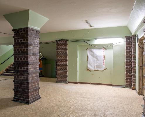Rückbau im Inneren des alten Puschkin-Gymnasiums 4