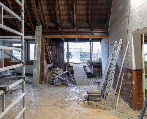 Rückbau im Inneren des alten Puschkin-Gymnasiums 5