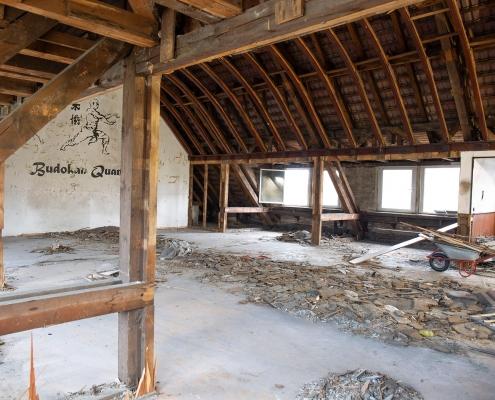 Rückbau im Inneren des alten Puschkin-Gymnasiums 6