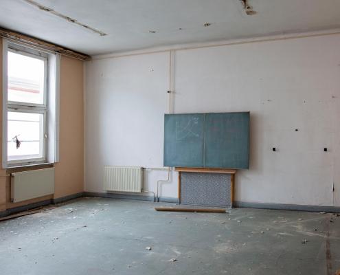 Rückbau im Inneren des alten Puschkin-Gymnasiums 8