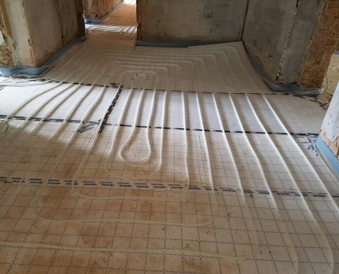 EG Fußbodenheizung Flur 2