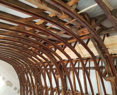 Dachstuhl Gewölbe